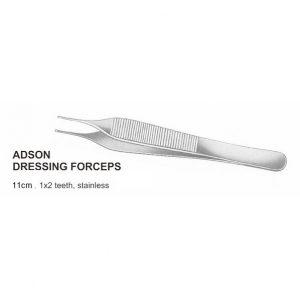 Adson Dressing Forceps Teeth