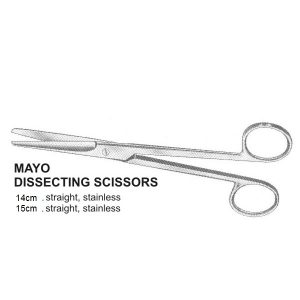 Mayo Dissecting Scissors STR
